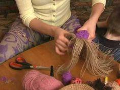 Куклы из верёвок. Мастер-класс Ларисы Рядновой