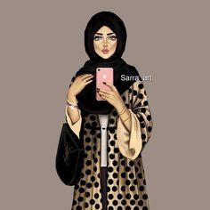 """914 Likes, 106 Comments - Sara Ahmed (@sarra_art) on Instagram: """"مساء الورد 🌸 رأيكم في رسمتي 😊 ؟؟ بكره هنزل رسمة البنتين 😘😍"""""""