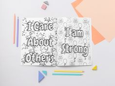 Remi's Coloring Pages Of Positive Affirmations