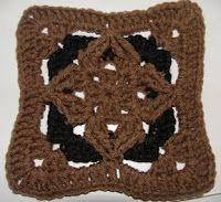 Diamond Granny Square Variation C
