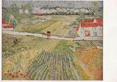 Vintage Norwegian postcard, Vincent Van Gogh by RussianSoulVintage on Etsy