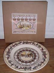 Emma Bridgewater Pageant Diamond Jubilee plate