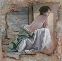 Pascal Chove - a modern French artist, born in 1960 ♥️♥️♥️ Andrew Wyeth, Forever Young, Pumpkin Oil, Ecole Art, Sexy Drawings, Plastic Art, Portraits, Love Painting, French Artists