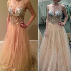 Sexy/Evening Tulle/Pageant/Prom Dresses 2017