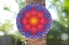 Mandala de reconexão com o Sagrado Feminino.