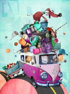 PABLO BERNASCONI: Illustration, Editorial Artist, Children's Book Illustrator, Storyboard Artist