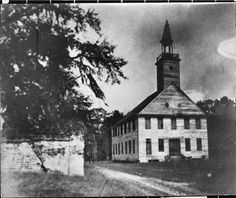 Congregational life revolved around the  church and a sanctuary was among the first  structures they built as they arrived on their  new lands. Completed in 1752, the original  Midway Congregational Church or Midway  Meeting House stood on the site of the  present structure. Land was reserved for a  cemetery just to the west across the road that  connected Savannah with Darien and Fort  Frederica.