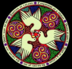 Peace on Earth in the surviving language of the Celts