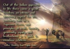 out of the indian approach to life @ Ya-Native.com