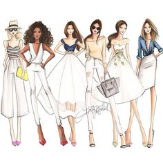 Image in 🎨Dessin🎨 collection by Nadia on We Heart It Fashion Illustration Sketches, Fashion Sketchbook, Fashion Sketches, Fashion Prints, Fashion Art, Girl Fashion, Fashion Outfits, Fashion Tips, Dress Design Sketches