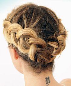 Die 9 Besten Bilder Auf Kurze Haare Flechten Frisur Ideen Haar