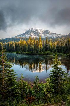 Mt Rainier (Washington) by Darren Neupert on 500px