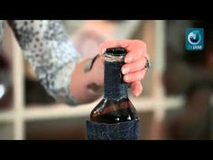 Мастер-класс по декору бутылки алкоголя к 23 февраля - YouTube
