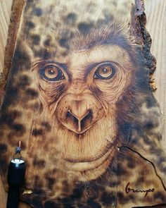 pyrography art by me