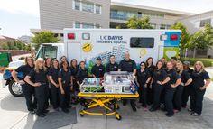 UC Davis Children's HospitalCritical Care Transport Team gets a new ride