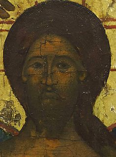 Detailed view: PP028. Baptism of Christ- exhibited at the Temple Gallery, specialists in Russian icons