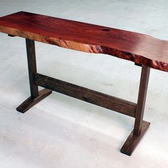 This project concludes a three-part video series where we build a live-edge (natural-edge) slab table. This project details the construction of the table base from milling rough lumber to size, creating the joinery (including wedged tenons), and assembly.  Scroll down for a list of products used in this project. Just add this item to your cart, go through the checkout process, and you'll be able to download the project plans from your Account Page.    Products Used to Build the Table Base…