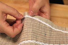 Truly Handmade: Traditional Tailoring Techniques to Learn