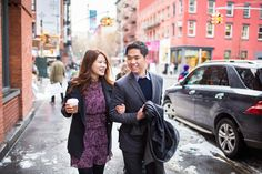 Greenwich Village and Soho #Engagement Session