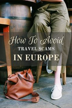 Outsmart the bad guys and avoid travel scams in Europe with these safe travel tricks. Travel safe and enjoy your adventures! Packing Tips For Travel, Travel Guides, Travel Hacks, Travelling Tips, Budget Travel, European Vacation, Italy Vacation, European Travel, Travel Handbags
