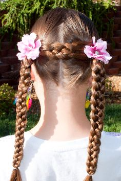 Princess Piggies: Lots of really cute hair ideas for little girls