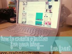 create your own blog button [FOR FREE]