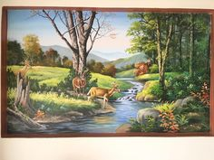 Landscape Art, Koi, Texture, Canvas, Painting, Beautiful, Canvases, Bonito, Landscapes