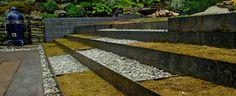 Steel/Moss Garden by S I T E W O R K SS T U D I O :: Landscape Architecture and Garden Design, Charlottesville, VA