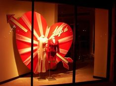 Image result for valentines window display message