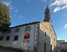Iglesia de Santiago, Arzúa, La Coruña #CaminodeSantiago