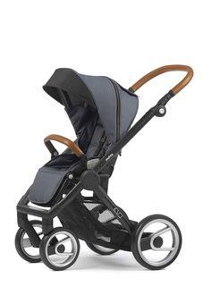 Mutsy Evo Industrial Stroller - Grey with Black Frame