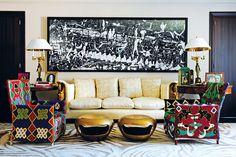 La diseñadora de moda nos abre las puertas de su hogar para compartirnos su vida, sus pasiones, sus gustos y su mundo.