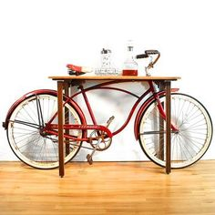 This would have been a lovely way to display my grand poppas bike if it had gone to me :, (