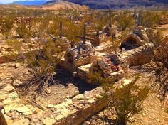 Family Graves at Terlingua ghost town.