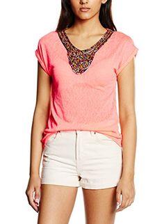 Morgan Dorne.N - T-shirt - Uni - Manches courtes - Femme…