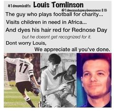 it's so sad.... Louis... We all live you and appreciate everything you've done. You're an amazing amazing person