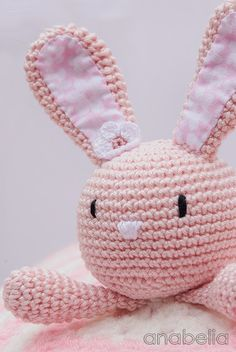 Mesmerizing Crochet an Amigurumi Rabbit Ideas. Lovely Crochet an Amigurumi Rabbit Ideas. Crochet Security Blanket, Crochet Baby Blanket Free Pattern, Crochet Shoes Pattern, Crochet Patterns Amigurumi, Amigurumi Doll, Crochet Toys, Crochet Gratis, Crochet Bunny, Love Crochet
