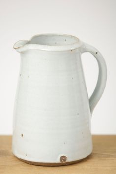 Leach Jug | Handmade pottery made exclusively by Leach Pottery - Seasalt Cornwall. love the makers stamp on the side.