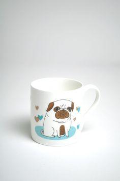 Pugs Not Drugs Mug | The Hambledon