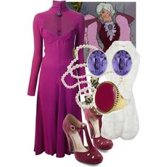 """Madame Adelaide Bonfamille ~ Aristocats"" by liesle on Polyvore"