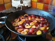 Confiture de prunes d'ente - Recette de cuisine Marmiton : une recette