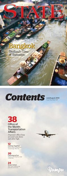 Bangkok Bangkok - US Department of State - Magazine with 56 pages: Bangkok Bangkok - US Department of State Us Department Of State, Travel Magazines, Air Travel, Travel Agency, Transportation, Fun, Airline Travel, Lol