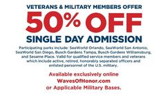 New Military & Veteran Offers From Busch Gardens Williamsburg - Online Military Discounts and Deals | MilitaryBridge