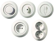eluttag - Google Search Plate Display, Wall Plug, Rue, Home Renovation, My House, Retro Vintage, Sweet Home, Hardware, Lights