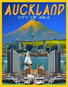 Vintage Auckland.