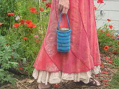 Ravelry: Mason Jar Cozy pattern by Angela Baker