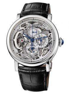 Rotonde Grande Complication Squelette da uomo firmato Cartier
