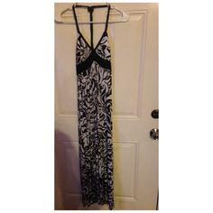 halter Maxie dress size small halter Maxie dress worn twice Dresses Maxi