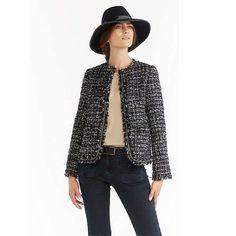 BuyGerard Darel Tartan Jacket, Navy Blue, 12 Online at johnlewis.com