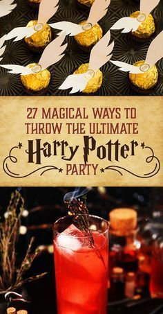 Need Harry Potter food for a birthday party or movie night? These Harry Potter recipes are perfect for wizards of every age! Baby Harry Potter, Harry Potter Motto Party, Harry Potter Fiesta, Harry Potter Thema, Cumpleaños Harry Potter, Harry Potter Parties, Harry Potter Themed Party, Harry Potter Snacks, Harry Potter Halloween Party